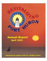 Maritime Capital Of The Great Lakes - City of Port Huron