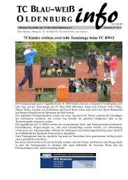 75 Kinder erleben zwei tolle Tennistage beim TC BWO - Tennisclub ...