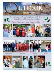 December - Slope Electric Cooperative