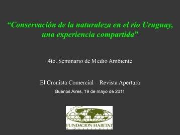 Presentación de Gustavo Aparicio - Cronista.com