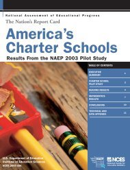 America's Charter Schools - National Education Policy Center