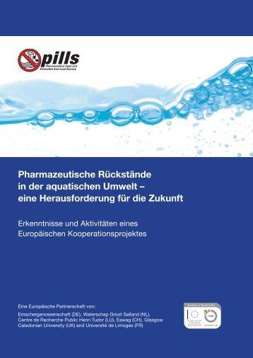 Pharmazeutische Rückstände in der ... - The PILLS-Project