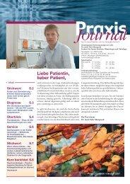 Ausgabe 6 / 2007 - Onkologische Schwerpunktpraxis Celle