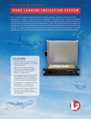 Hard Landing Indication System - L-3 Aviation Recorders
