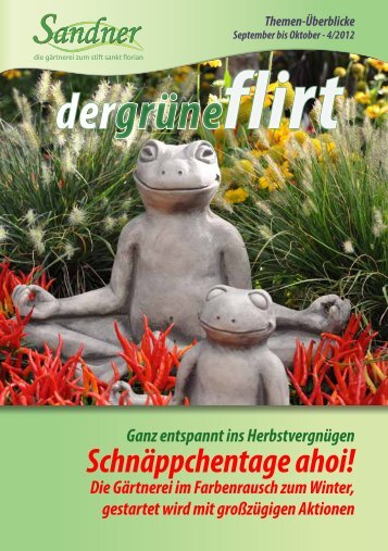4 / 2012 - September und Oktober - Sandner