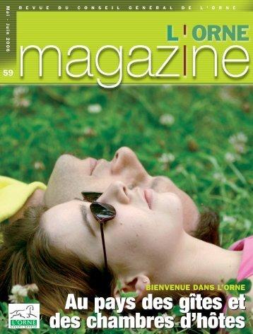 Orne Magazine n°59 - Conseil Général de l'Orne