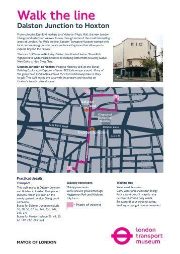 The Line Art Walk London : Walk