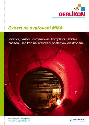 Svařování MMA - Air Liquide Welding