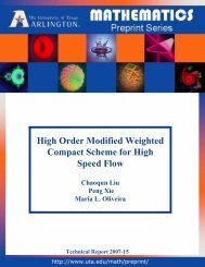 High Order Modified Weighted Compact Scheme for High Speed Flow
