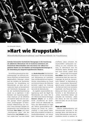 """Hart wie Kruppstahl"" - Lotta"