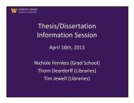 Download the slides - Graduate School