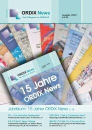 20 Jahre DOAG - ORDIX AG in