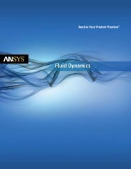 ANSYS Fluid Dynamics Solutions Brochure - Ozen Engineering and ...