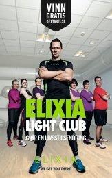 Les mer om ELIXIA Light Club i vår nye brosjyre for 2013