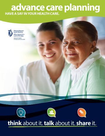Advance Care Planning Workbook - Winnipeg Regional Health ...