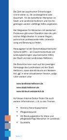 Wegweiser bei seelischen Problemen - THERAPEUTIKUM Heilbronn - Page 2