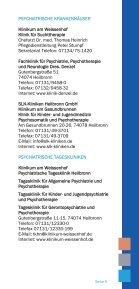 Wegweiser bei seelischen Problemen - THERAPEUTIKUM Heilbronn - Page 5