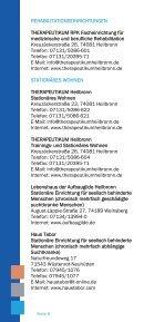 Wegweiser bei seelischen Problemen - THERAPEUTIKUM Heilbronn - Page 6