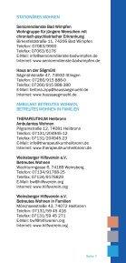 Wegweiser bei seelischen Problemen - THERAPEUTIKUM Heilbronn - Page 7