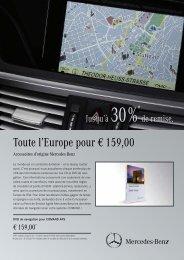 Toute l'Europe pour € 159,00 - Kalscheuer Mercedes-Benz