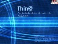306_Pavlić Thin@ Budućnost poslovnih aplikacija.pdf - HrOUG