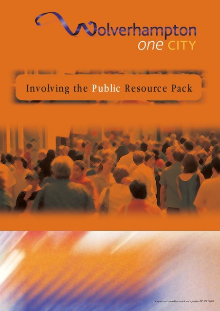 Involving the Public Resource Pack - Wolverhampton Partnership