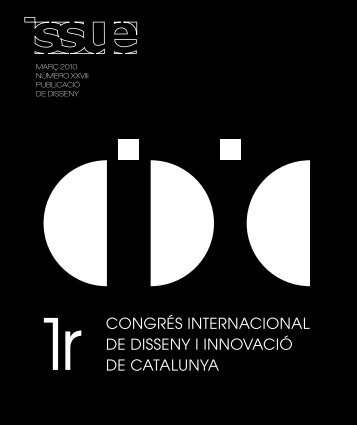 març 2010 NÚmErO XXVIII PUBLICaCIÓ DE DISSENY - ESDi