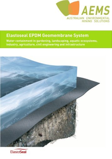 Elastoseal EPDM Geomembrane System - Australian Environmental ...