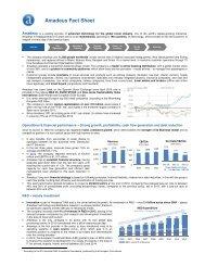 Amadeus Fact Sheet - Investor relations at Amadeus