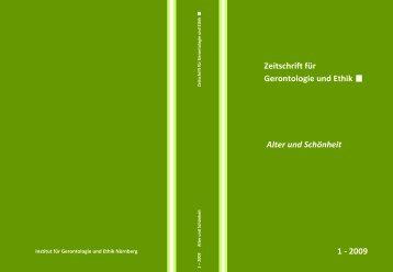 Gerontologie!und!Ethik!! - Evangelische Hochschule Nürnberg
