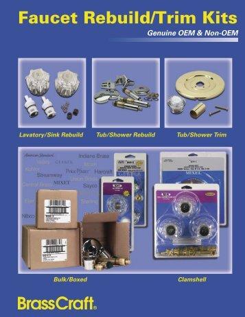 Faucet Rebuild/Trim Kits - Brass Craft