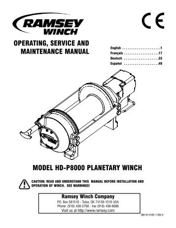 ramsey winch installation with Ramseypdfs on Lift Gate Solenoid Wire Diagram together with Superwinch Solenoid Wiring Diagram as well Mile Marker Winch Wiring Diagram furthermore Ramseypdfs together with Warn 1700 Winch Wiring Diagram.