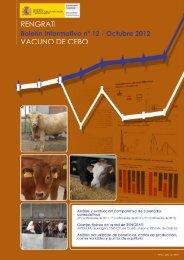 Rengrati Vacuno de Cebo : boletín informativo. NIPO: 280-12-040-7