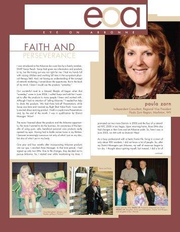FAITH AND - Arbonne International