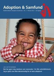 for at være adopteret - Adoption og Samfund