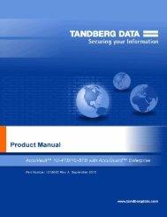 PRODUCT NAME - Tandberg Data