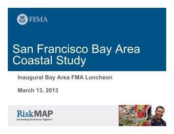 San Francisco Bay Area Study - Floodplain Management Association