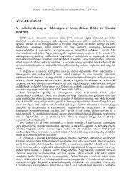 A csehszlovák-magyar lakosságcsere lebonyolítása Békés és ... - EPA