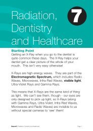 Download Radiation, Dentistry and Healthcare Report - Sustainability