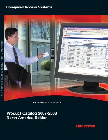 Honeywell Access Systems Product Catalog 2007-2008