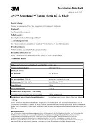3M™ Scotchcal™ Folien Serie 8019/ 8020
