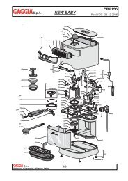 ER0156 Rev03.indd - gaggia manual service