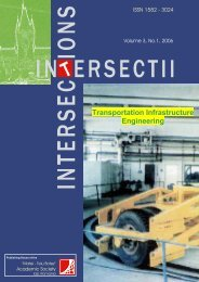 Transportation Infrastructure Engineering -