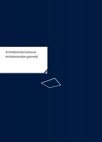 Architektūriniai šviestuvai Architekstoniskie gaismekļi - Kanlux