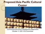 Proposed Asia Pacific Cultural Center