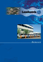 SERVICE-folder Nederlands - Landustrie