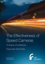 Speed camera effectiveness - Allsop - exec ... - RAC Foundation