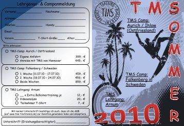 Folie 1 - TMS Tischtennis
