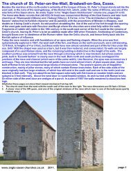 St. Peter-on-the-Wall - Anglo-Saxon churches