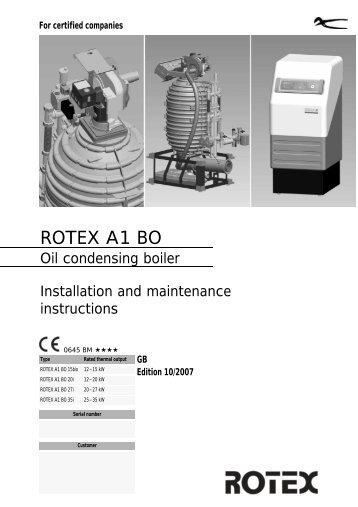 ROTEX A1 BO - E-santechnika.lt parduotuvė